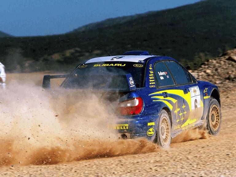 2001 Subaru Impreza WRC 483190