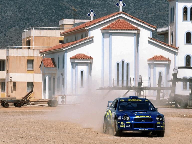 2001 Subaru Impreza WRC 483192