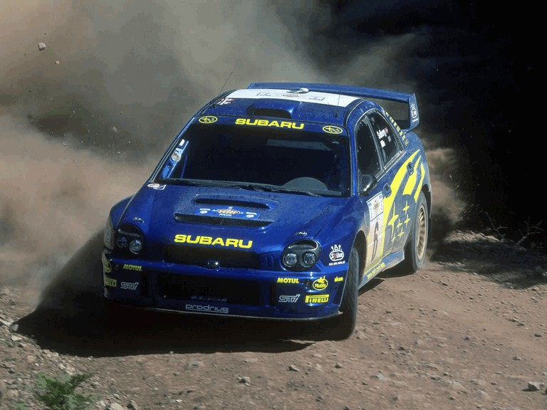 2001 Subaru Impreza WRC 483193