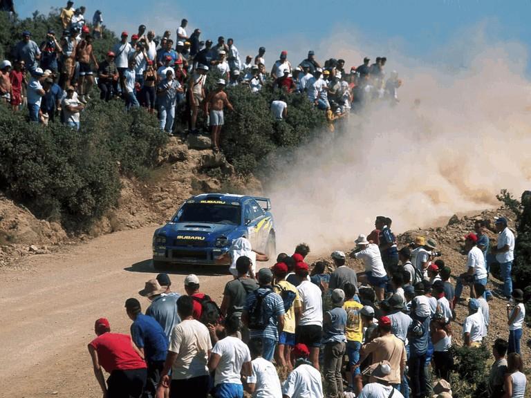 2001 Subaru Impreza WRC 483194