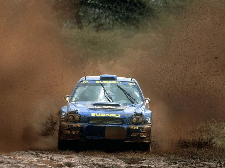 2001 Subaru Impreza WRC 483211