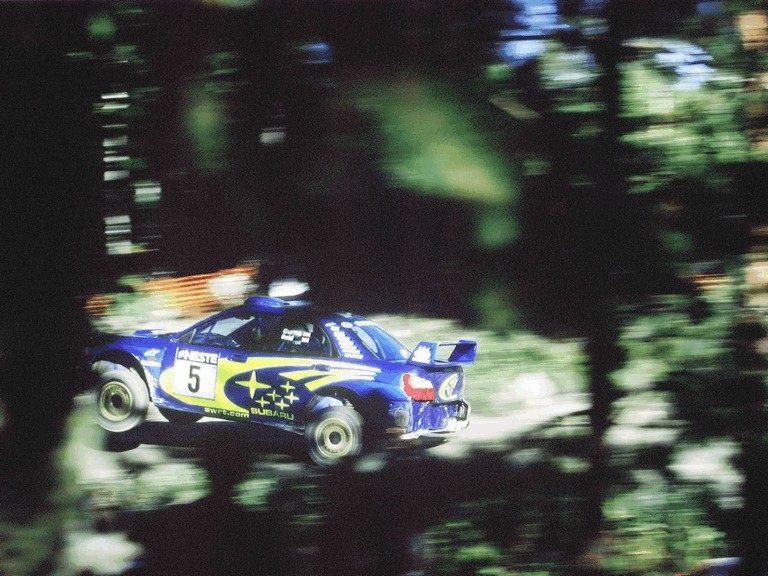 2001 Subaru Impreza WRC 483233