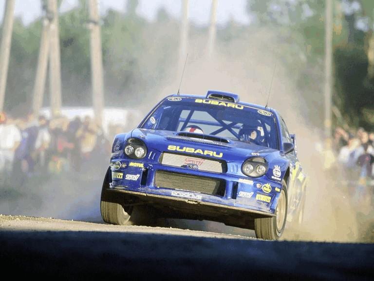 2001 Subaru Impreza WRC 483236