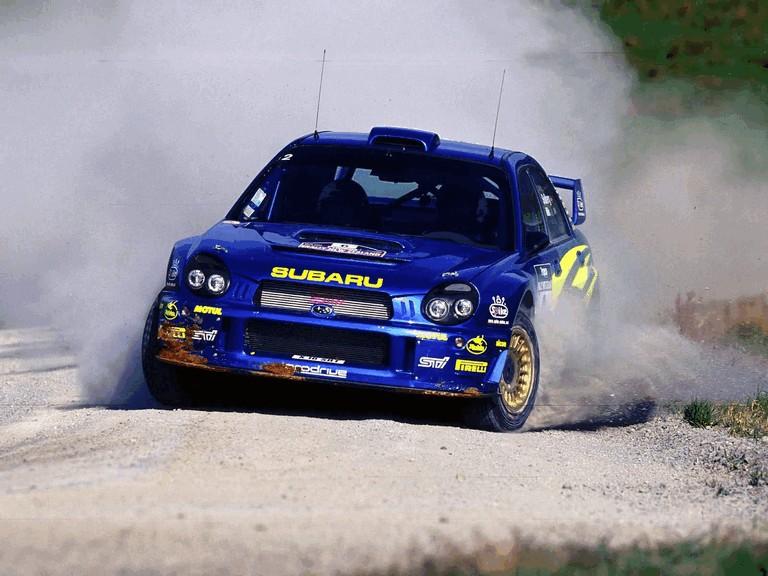 2001 Subaru Impreza WRC 483242