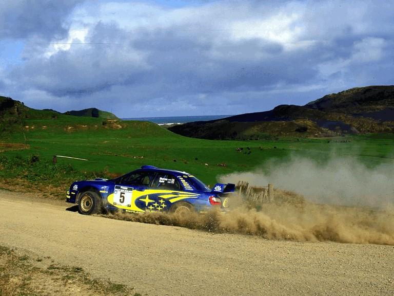 2001 Subaru Impreza WRC 483243
