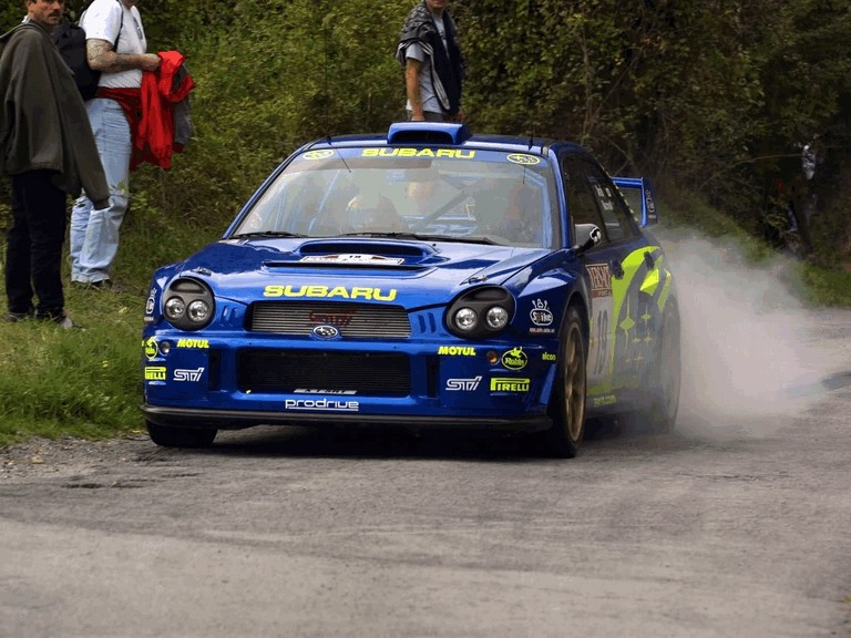 2001 Subaru Impreza WRC 483257