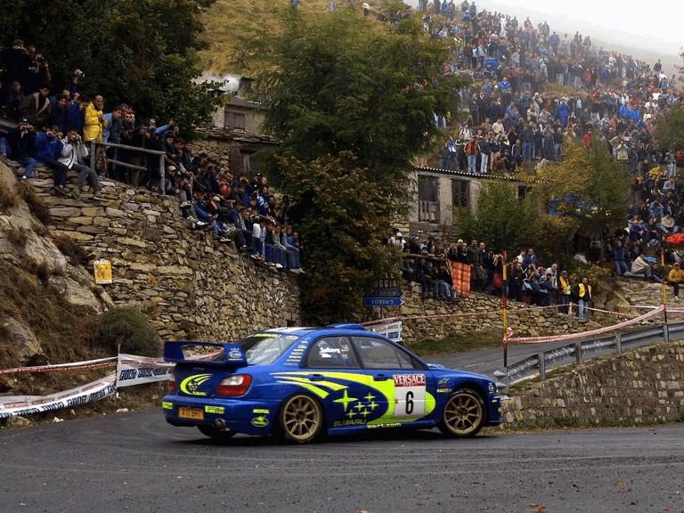 2001 Subaru Impreza WRC 483264