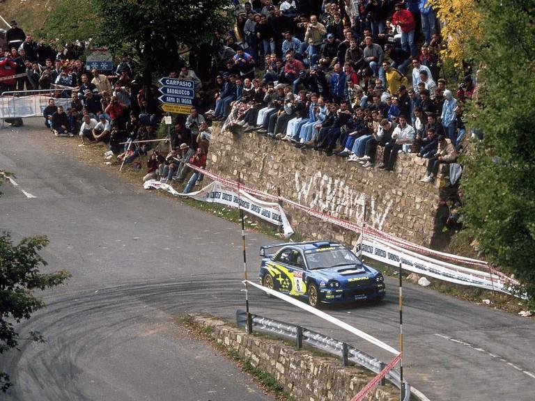 2001 Subaru Impreza WRC 483268