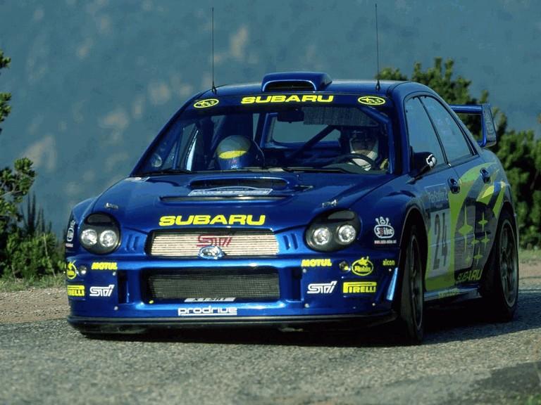2001 Subaru Impreza WRC 483275