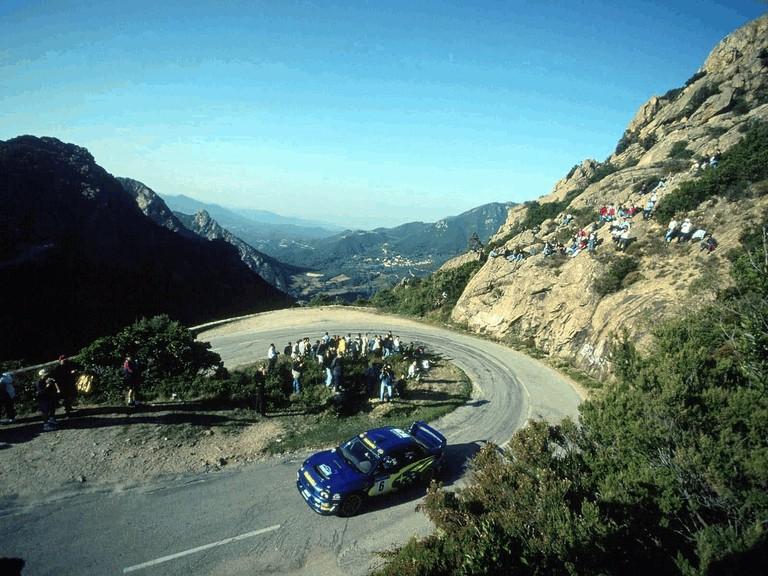 2001 Subaru Impreza WRC 483276