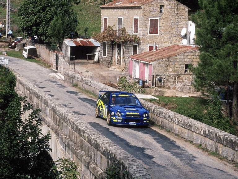 2001 Subaru Impreza WRC 483280