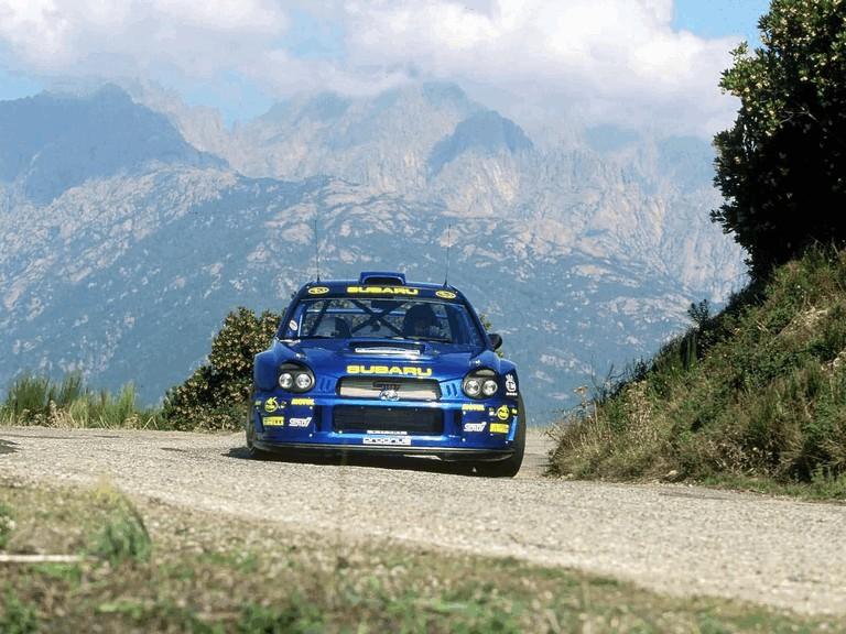 2001 Subaru Impreza WRC 483284