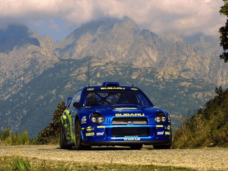 2001 Subaru Impreza WRC 483285