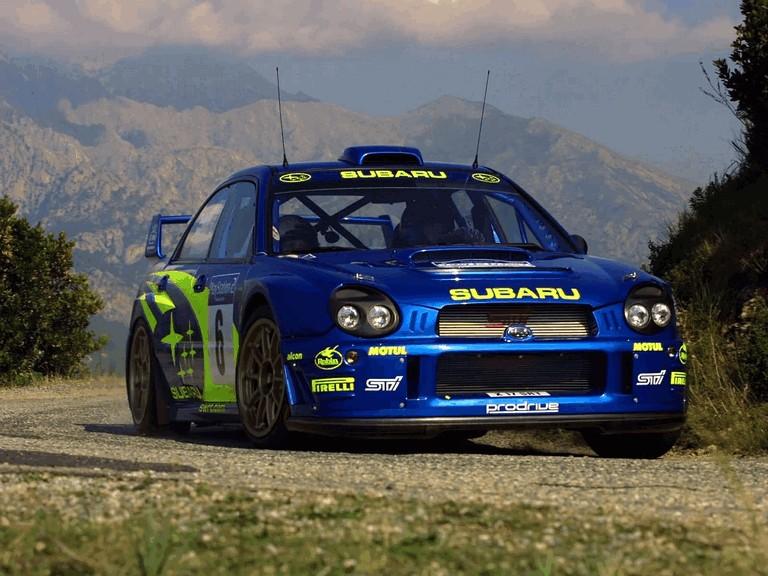 2001 Subaru Impreza WRC 483286