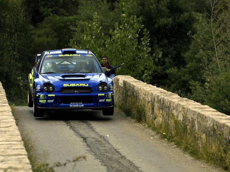 2001 Subaru Impreza WRC 483293