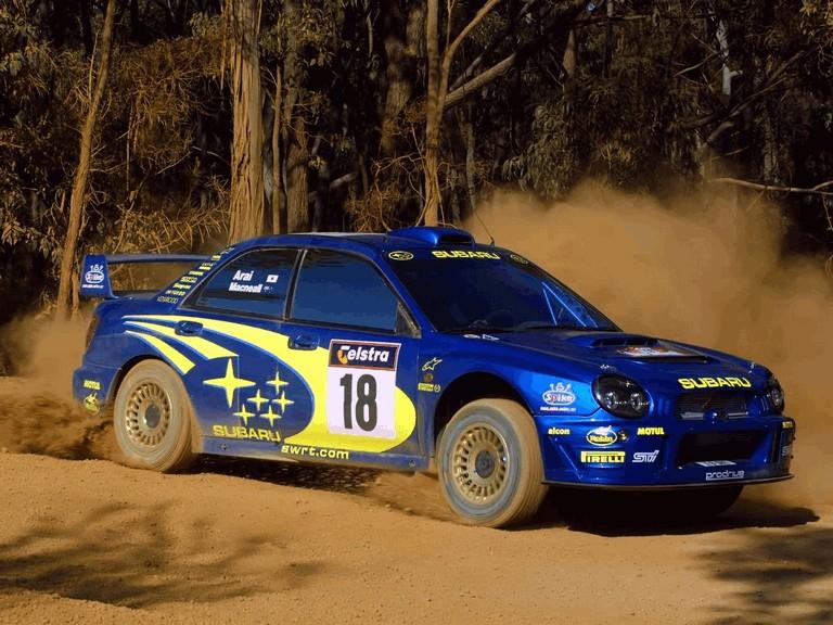 2001 Subaru Impreza WRC 483299