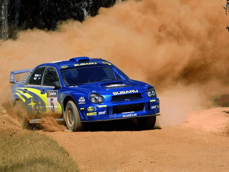 2001 Subaru Impreza WRC 483302