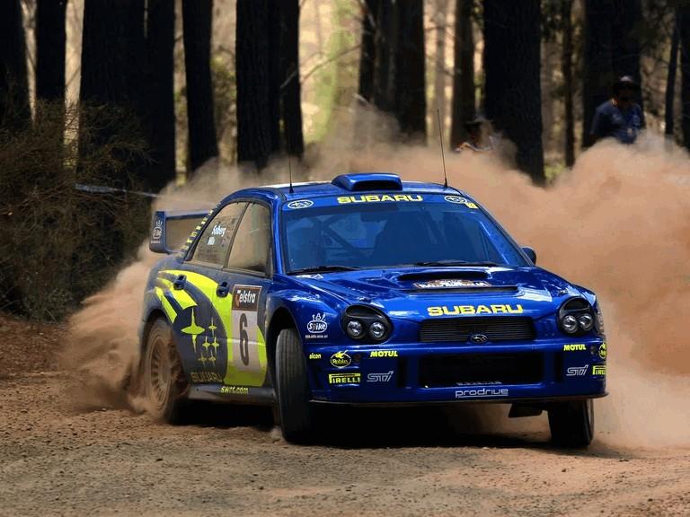2001 Subaru Impreza WRC 483304