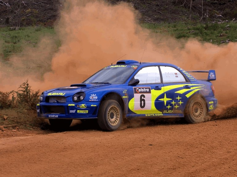 2001 Subaru Impreza WRC 483305