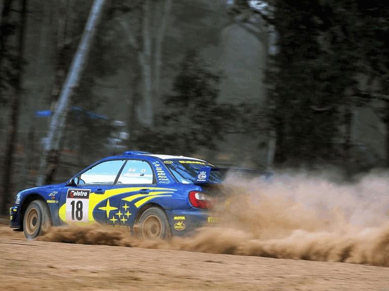 2001 Subaru Impreza WRC 483314