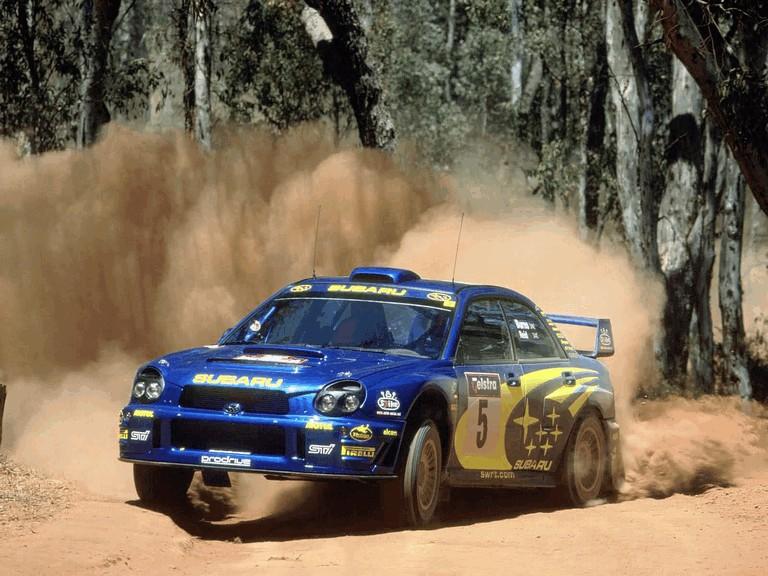 2001 Subaru Impreza WRC 483316