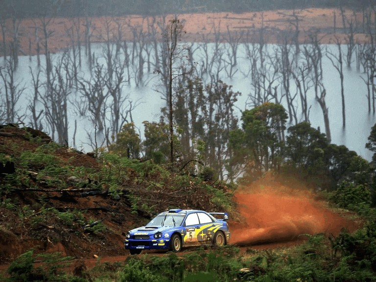 2001 Subaru Impreza WRC 483321