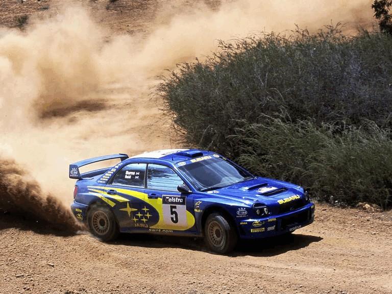 2001 Subaru Impreza WRC 483325