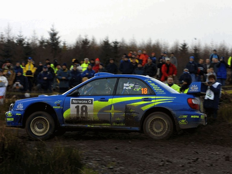 2001 Subaru Impreza WRC 483334