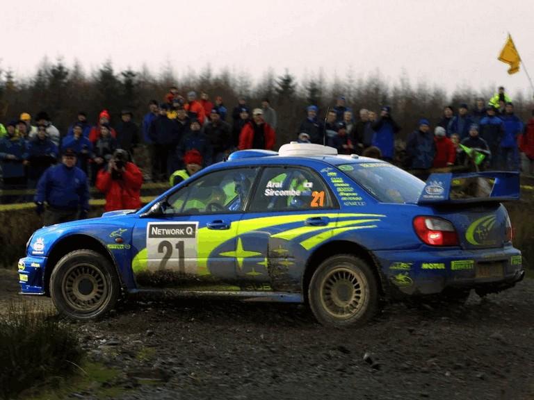 2001 Subaru Impreza WRC 483335