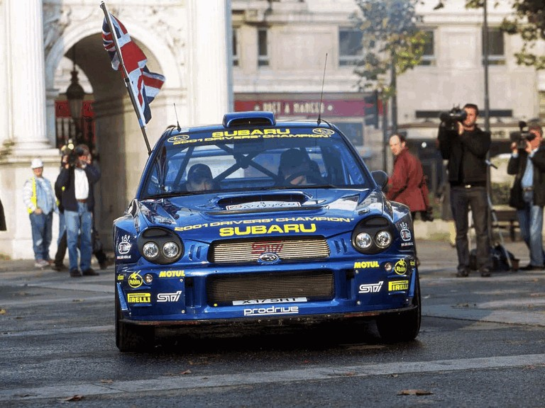 2001 Subaru Impreza WRC 483352