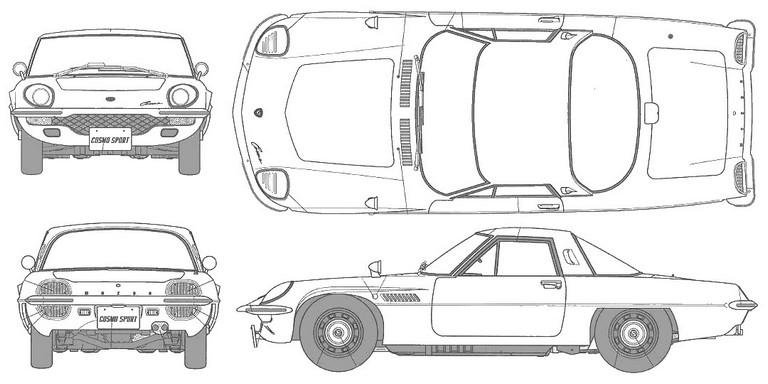 1967 Mazda Cosmo sport 247331