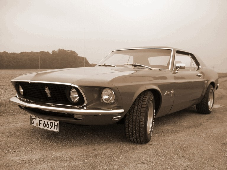 1969 Ford Mustang 247950