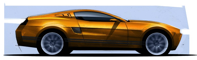 2010 Ford Mustang Shelby GT500 - sketches 248869