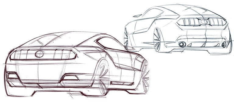 2010 Ford Mustang Shelby GT500 - sketches 248878