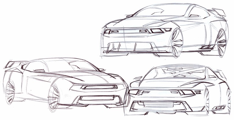2010 Ford Mustang Shelby GT500 - sketches 248879