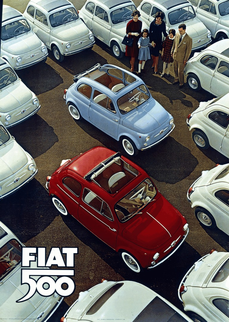 1960 Fiat 500D 249169
