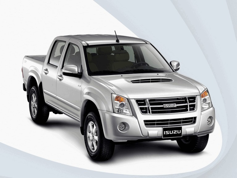 2008 isuzu d-max double cab - free high resolution car images