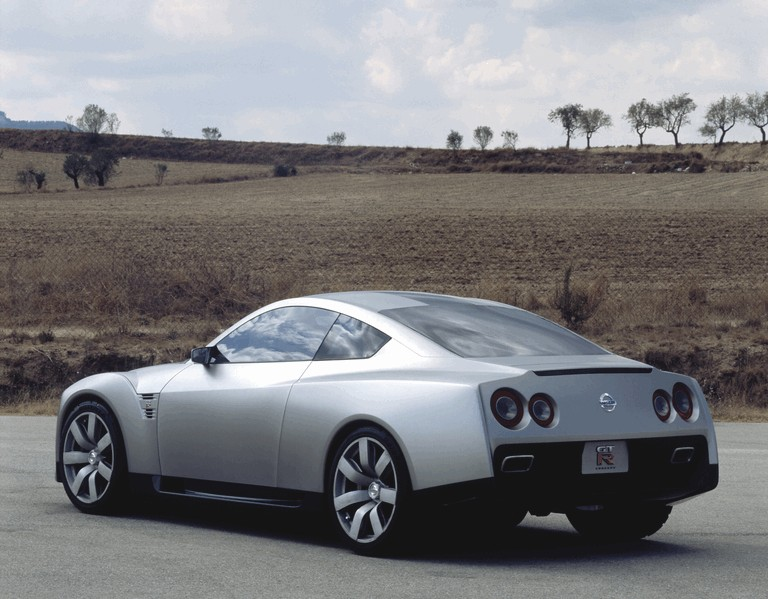 2002 Nissan GT-R concept 317680