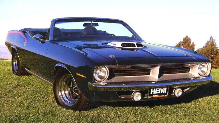 1969 Plymouth Hemi Cuda convertible - Free high resolution