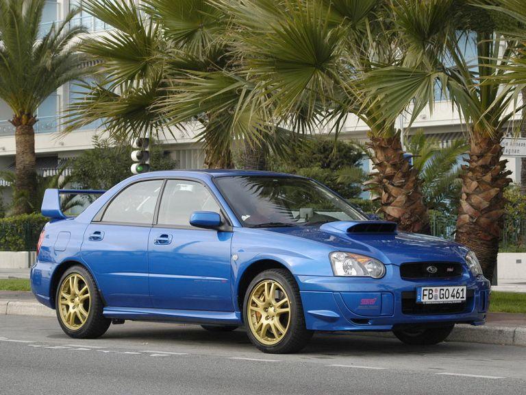 2002 Subaru Impreza WRX Sti 528150