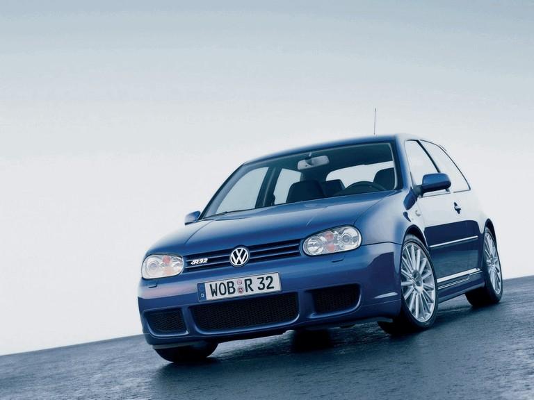 2002 Volkswagen Golf R32 ( IV series ) 199209