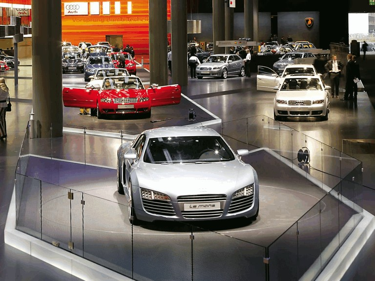 2003 Audi Le Mans quattro concept 199403