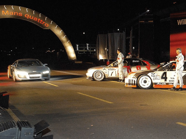 2003 Audi Le Mans quattro concept 199410