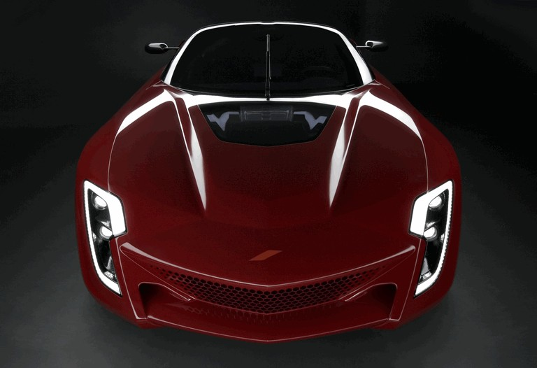 2009 Bertone Mantide ( based on Chevrolet Corvette C6 ZR1 ) 256440