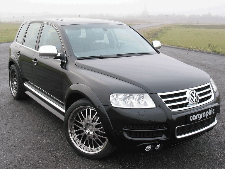 2008 Volkswagen Touareg by Cargraphic 258181