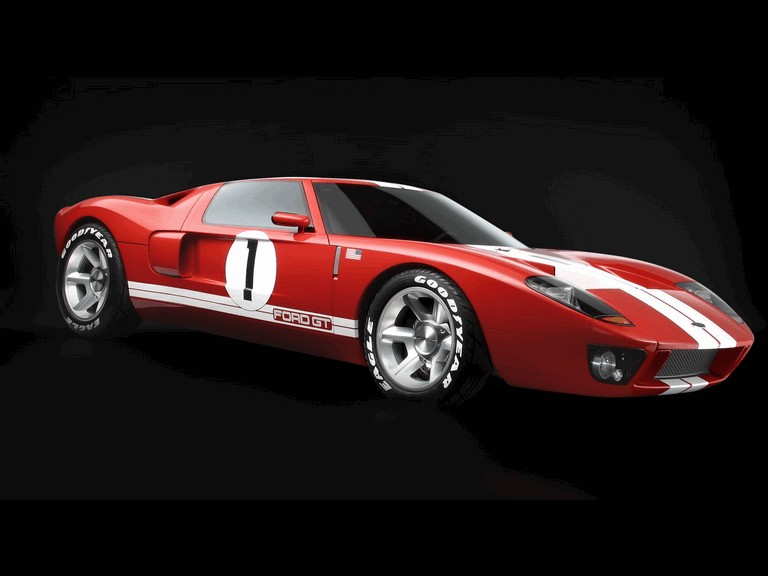 2003 Ford GT concept 483932