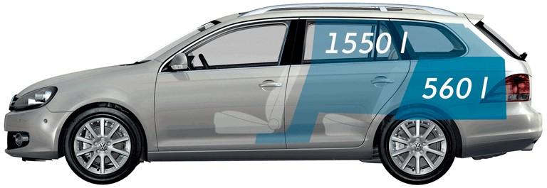 2009 Volkswagen Golf VI Variant 258646