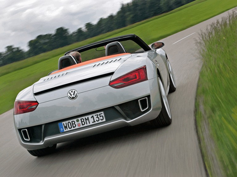 2009 Volkswagen BlueSport roadster 259628