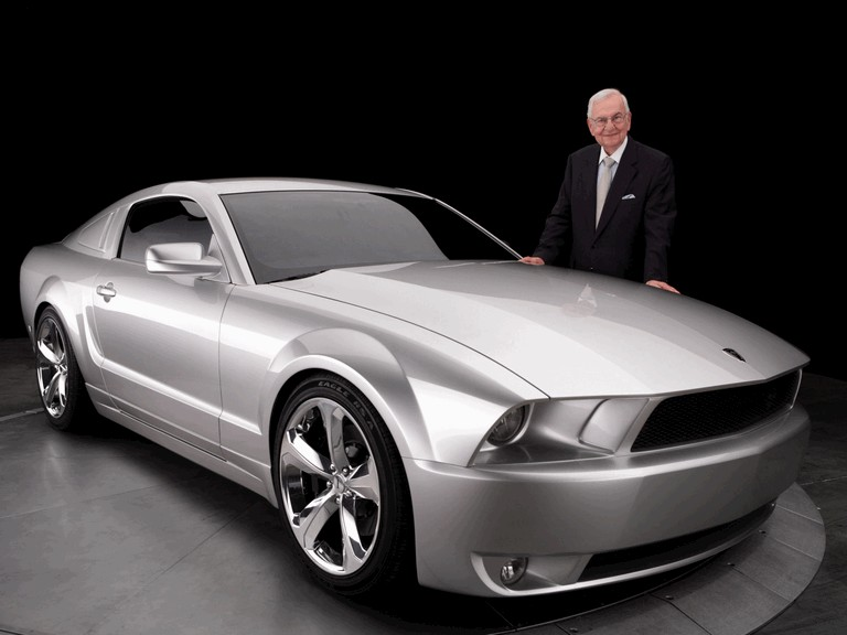 2009 Ford Mustang - 45th anniversary - silver edition for Lee Iacocca 261208