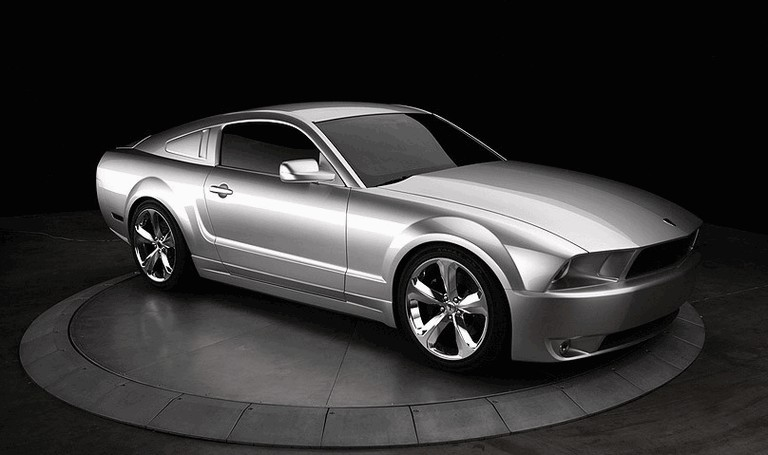 2009 Ford Mustang - 45th anniversary - silver edition for Lee Iacocca 261209